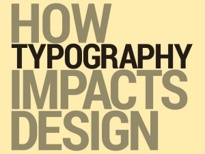 How typography influences design