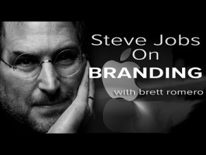 Steve Jobs talks about branding